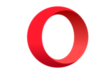 FREE Download of Opera Browser logo logo LOGO at dwglogo.com