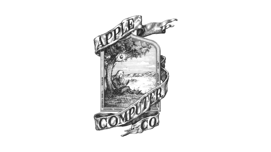 1976 Apple first logo