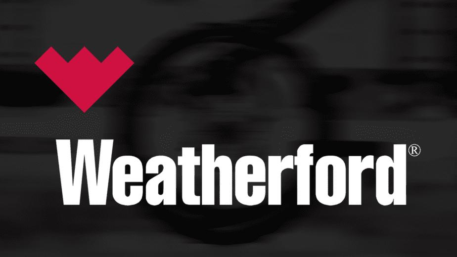 Weatherford International white logo.png