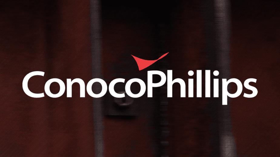 ConocoPhillips White Logo