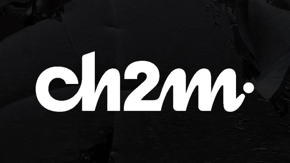 White Logotype Ch2m