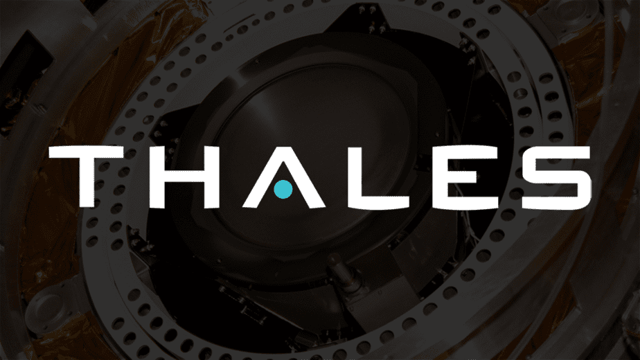 Thales logo white