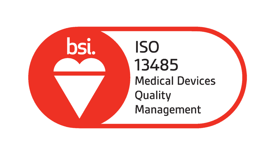 BSI logo, ISO 13485 Medical Devices Quality Management