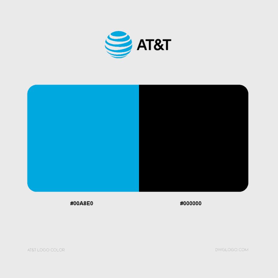 att logo color