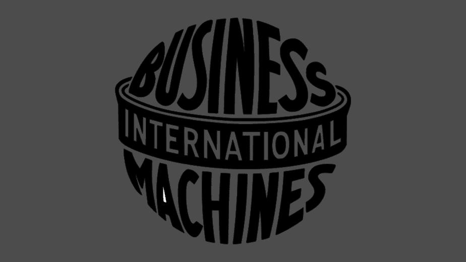 International Business Machines logo 1924-1946
