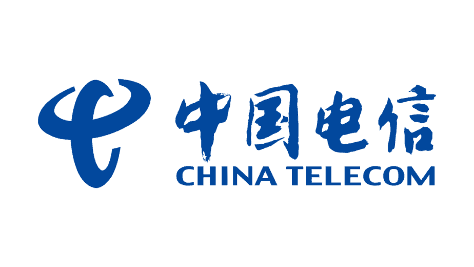 Logo of China Telecom since 2002