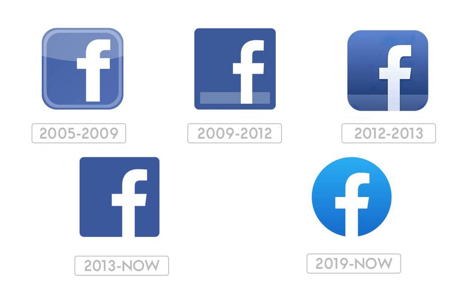 Facebook Icon evolution