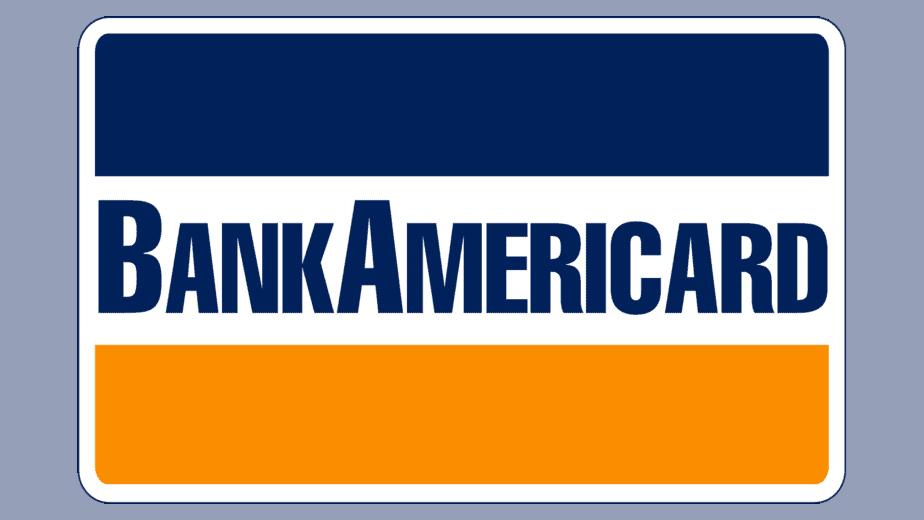 Visa  logo 1958–1976, oldest bank americard logo