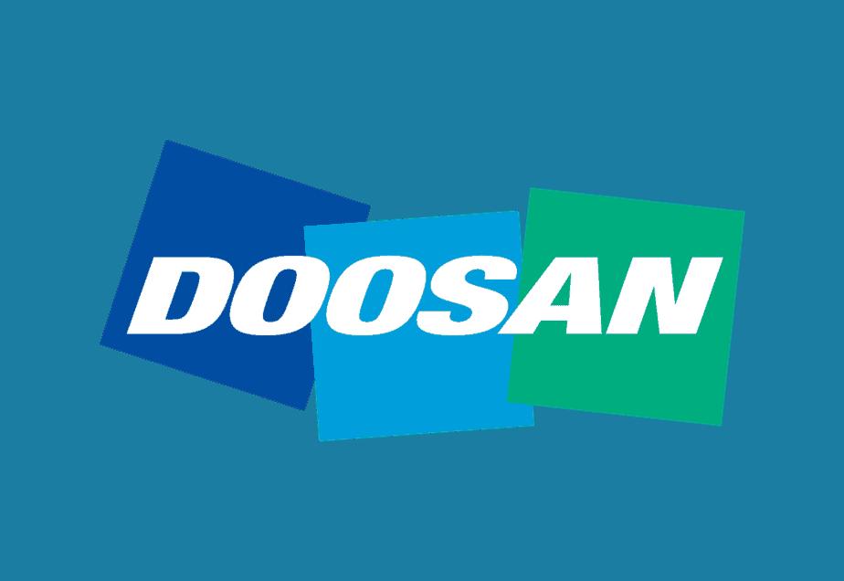 FREE Download of Doosan LOGO at dwglogo.com