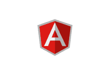 FREE Download of AngularJS logo LOGO at dwglogo.com