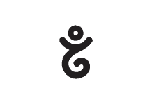 FREE Download of Gandi LOGO at dwglogo.com