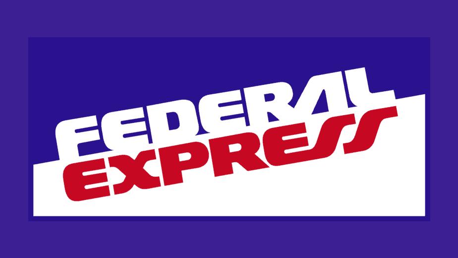 Federal Express Fedex logo 1973