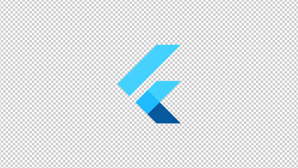 Flutter software logo 01