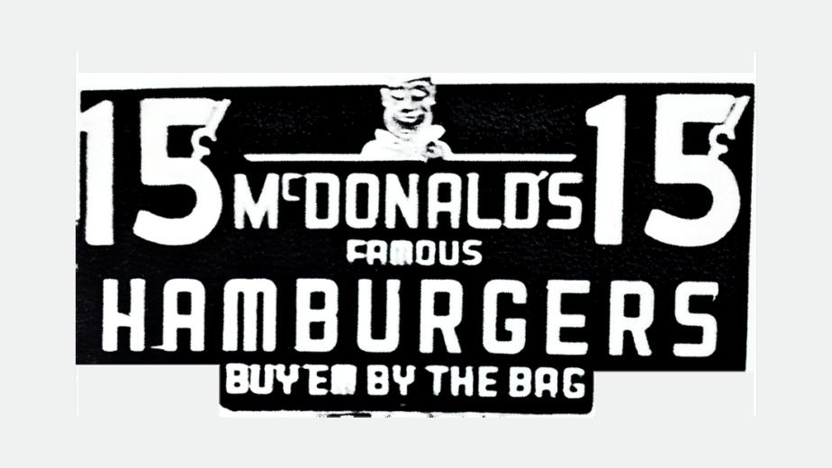 mcdonalds logo 1948 - 1953