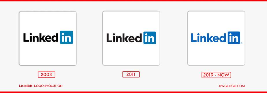 linked logo evolution
