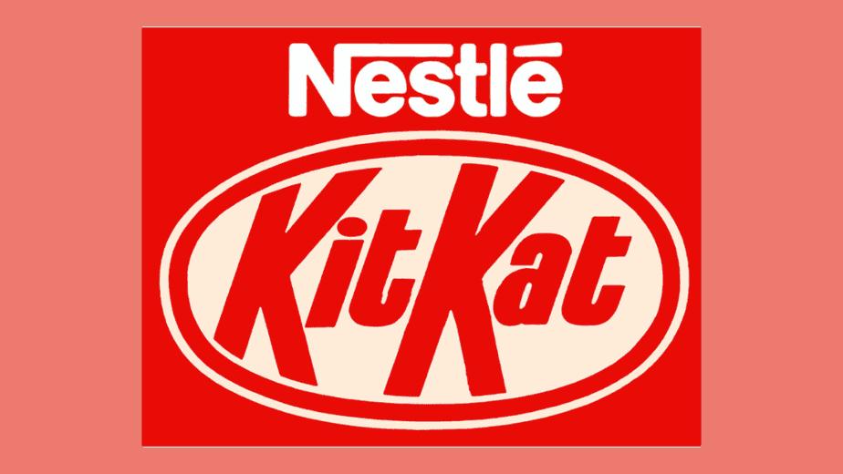 kit kat logo 1988 - 1995