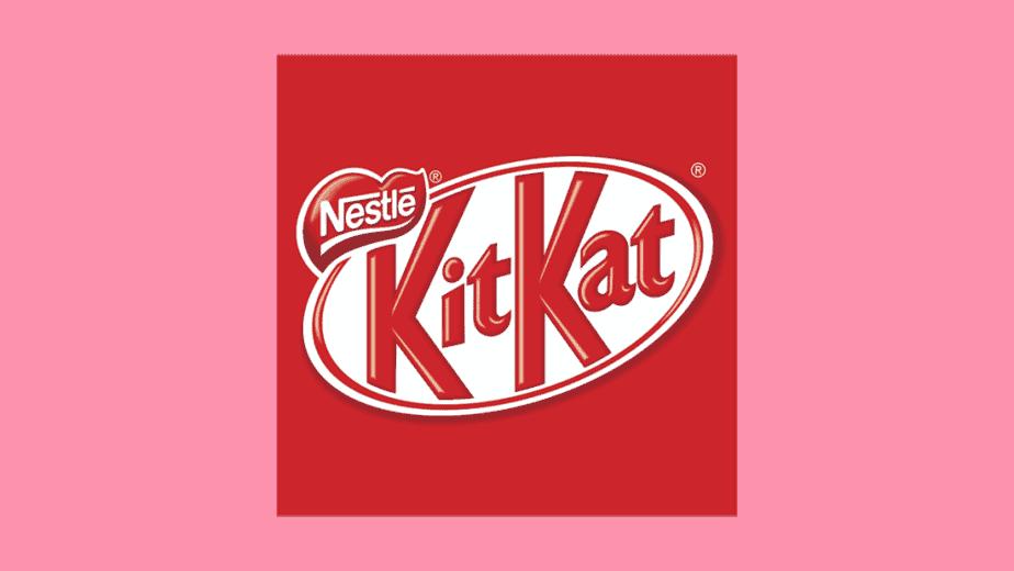 kit kat logo 2004 - 2017