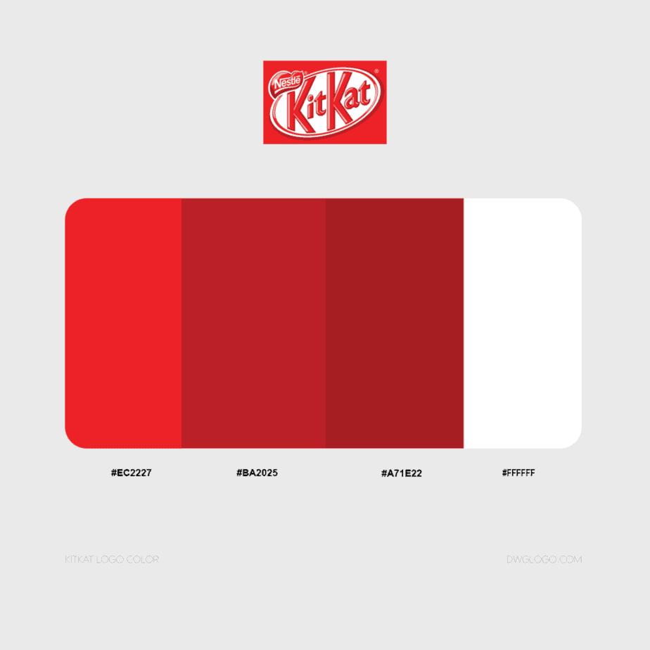 kitkat logo color